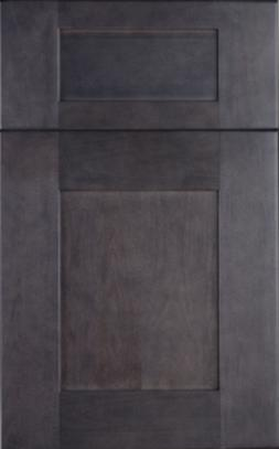 10'X10' Dark Stain Gray Shaker Kitchen Cabinets