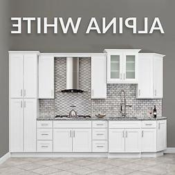 10x10 ALL WOOD White Kitchen Cabinets Fully Upgraded Group S