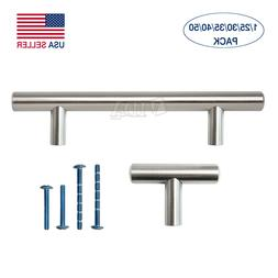 "2"" 4"" 5"" 6"" 8"" 10"" Stainless Steel Kitchen Cabinet Handles T"