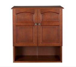Elegant Home Fashions 2 Door Wall Cabinet Martha 2 Doors 1 S