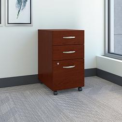3Drawer Mobile File Mahogany