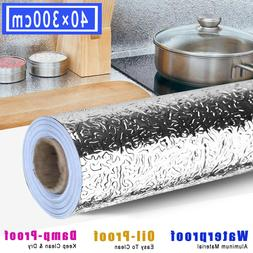 3M Kitchen Wall Sticker Oil Proof Foil Self Adhesive Cabinet