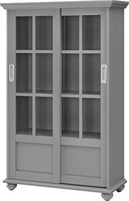 51 Barrister Bookcase, Gray