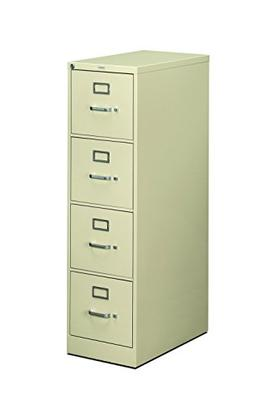 Hon 510 Series Ltr-size 4-drawer Vert. File w/Lock-4-Drawer