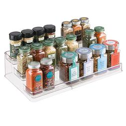 InterDesign 64140 Linus Expandable Multi-Level Spice Rack, K