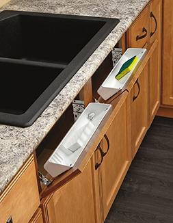 Rev-A-Shelf - 6572-11-11-52 - 11 in. White Polymer Tip Out S
