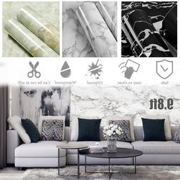 9.8ft Marble Self Adhesive Wallpaper Sticker Contact Paper C