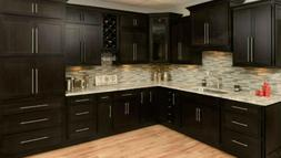 "90"" All Wood Kitchen Cabinets Full Overlay Group Sale Modern"