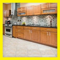 "90"" Kitchen Cabinets Maple All Wood Newport Group Sale by Le"