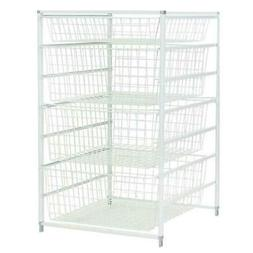 ClosetMaid 6201 4-Drawer Basket Kit, White