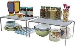 DecoBros Expandable Stackable Kitchen Cabinet and Counter Sh
