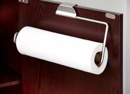 Home Basics Satin Nickel Over The Door PH01916 Paper Towel H
