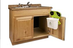 Kitchen Compost Caddy Cabinet Mounted Compost Bin - Pail Sys