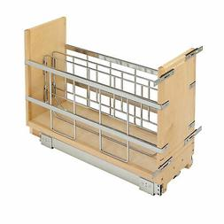 Rev-A-Shelf - 447-BCBBSC-8C - 8 in. Pull-Out Wood Foil Wrap/