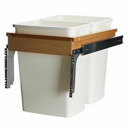 Rev-A-Shelf - 4WCTM-18DM2 - Double 35 Qt. Pull-Out Top Mount