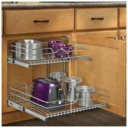 Rev-A-Shelf - 5WB2-1522-CR - 15 in. W x 22 in. D Base Cabine