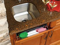 Rev-A-Shelf - 6541-19-52 - 19 in. Stainless Tip Out Sink Fro