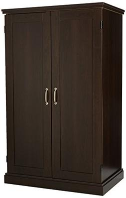 "Sauder 411614 Miscellaneous Office Armoire L: 31.50"" x D: 19"
