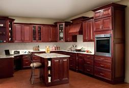 All Solid Maple Wood KITCHEN CABINETS 10x10 RTA JSI Georgeto