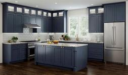 All Wood RTA Transitional Shaker Kitchen Cabinets in Elegant