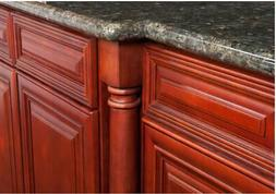 Cherry Maple Kitchen Cabinets-SAMPLE-RTA-All wood, IN STOCK-