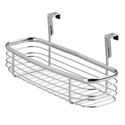interDesign Chrome Axis Over the Counter Small Accessory Bas