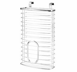 New Chrome Storage Organizer Grocery Plastic Bag Holder Cabi
