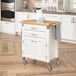 Home Styles® Dolly Madison Prep and Serve Cart - White