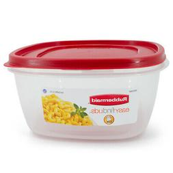 Rubbermaid Easy Find Lids Food Storage Container, 14 Cup, Ra