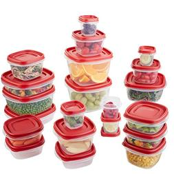 Rubbermaid Easy Find Lids Food Storage Container, 42-piece S
