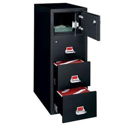 fireproof three drawer vertical file
