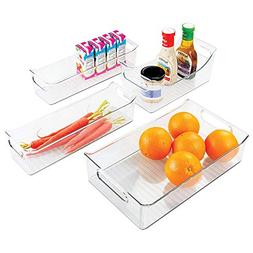 InterDesign Fridge Binz & Condiment Caddy , Clear