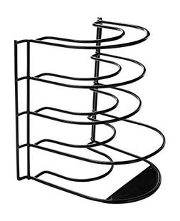 Frying Pan Rack Standing Organizer Holder Storage Cookware K