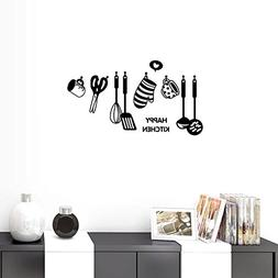 happy kitchen wall sayings quotes