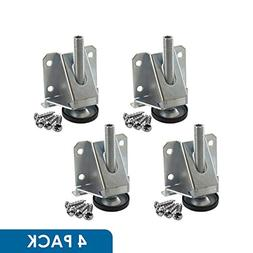 Rok Hardware 4 Pack Heavy Duty 8000 LB Capacity Adjustable F