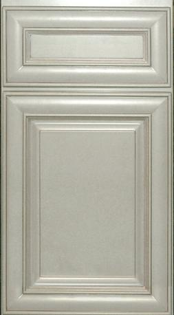 Hatteras White Maple RTA Kitchen Cabinets-Color Sample-All W