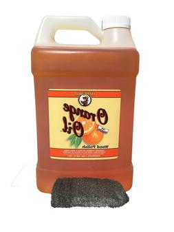 Howard Orange Oil 128 oz Gallon, Clean Kitchen Cabinets, Pol