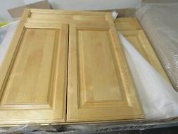 KITCHEN BATHROOM BASE CABINET DOORS SOLID WOOD BIRCH W/FACE