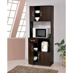 Kitchen Cabinet Pantry Shelves Microwave Stand Cart Storage