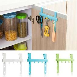 Door Rack Hooks Hanging Kitchen Cabinets Storage Holders Hom