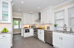Forever Mark Kitchen Cabinets Ice White Shaker Gold Collecti