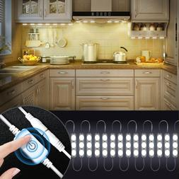 Kitchen Cabinets LED Lights with Smart Touch Dimmer Under Ca