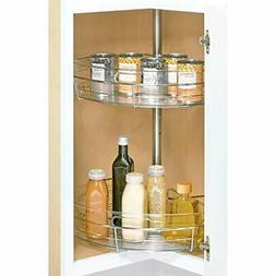 InterDesign Kitchen Lazy Susan Cabinet and Pantry Organizer