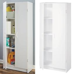 Kitchen Pantry Storage Cabinet Laundry Office Organizer Wood