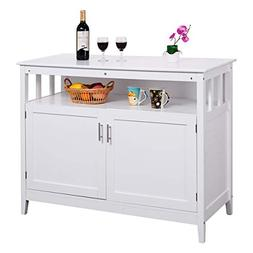 Costzon Kitchen Storage Sideboard Dining Buffet Server Cabin