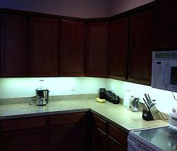 Kitchen Under Cabinet 5050 Bright Lighting Kit COOL WHITE LE