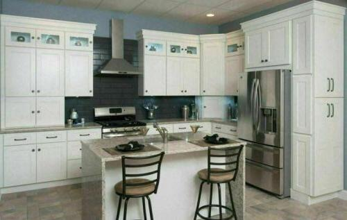 10 x10 all wood kitchen cabinets full