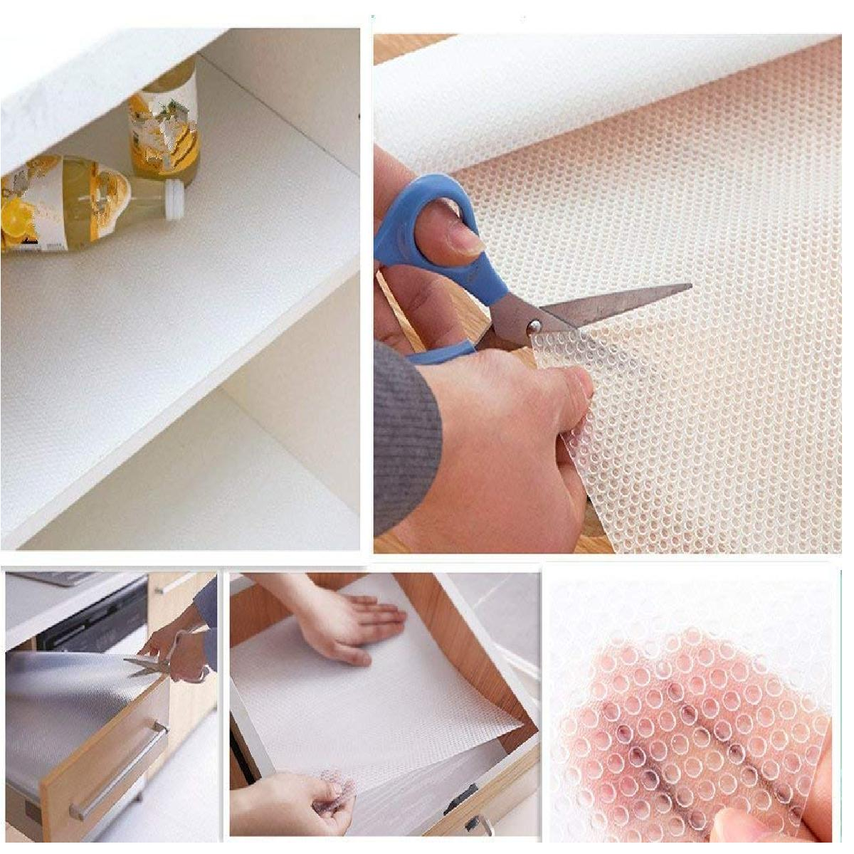 """17.7""""x59"""" cabinet liner, Non-slip Liners for kitchen Cabinets,"""