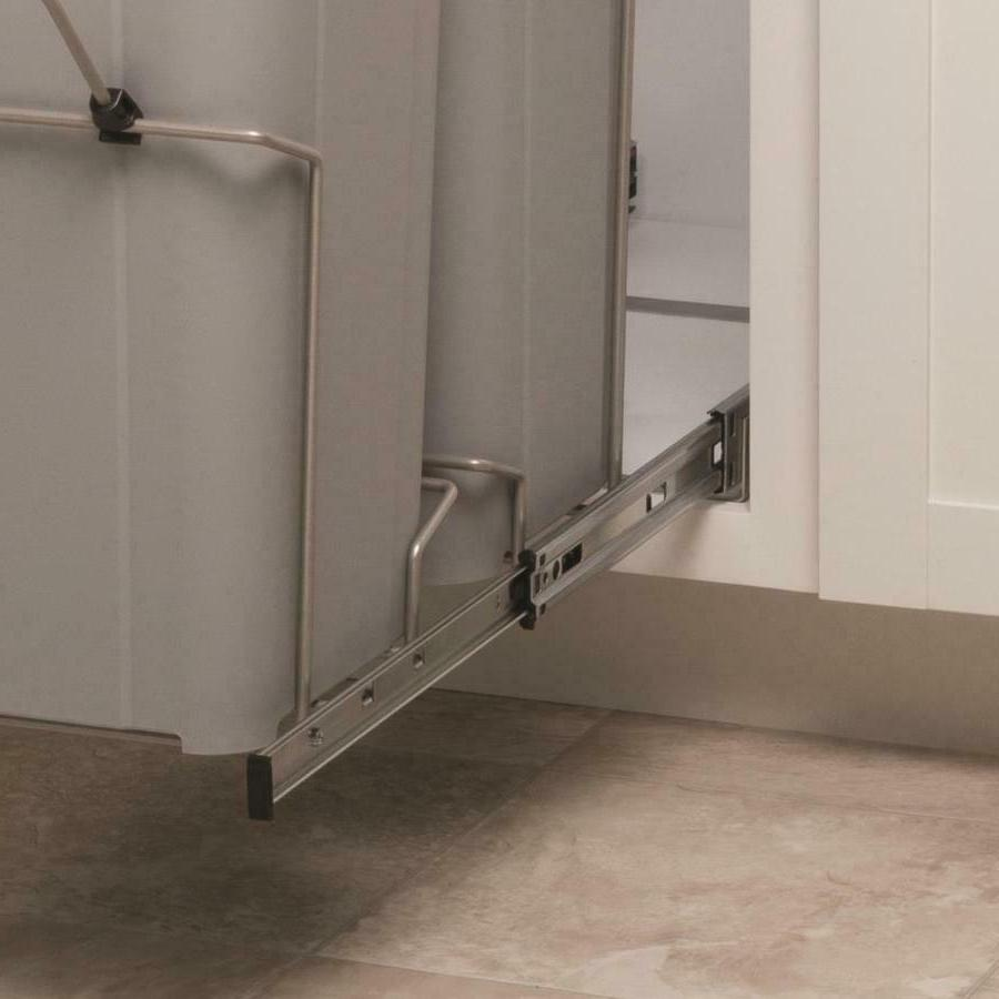 27-Quart Pull Out Trash Can Organizer Kitchen