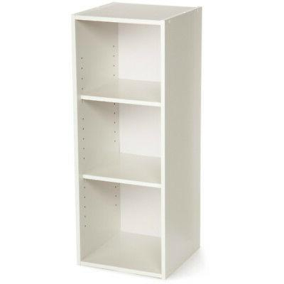 ClosetMaid 8987 Stackable 3-Shelf Organizer, White